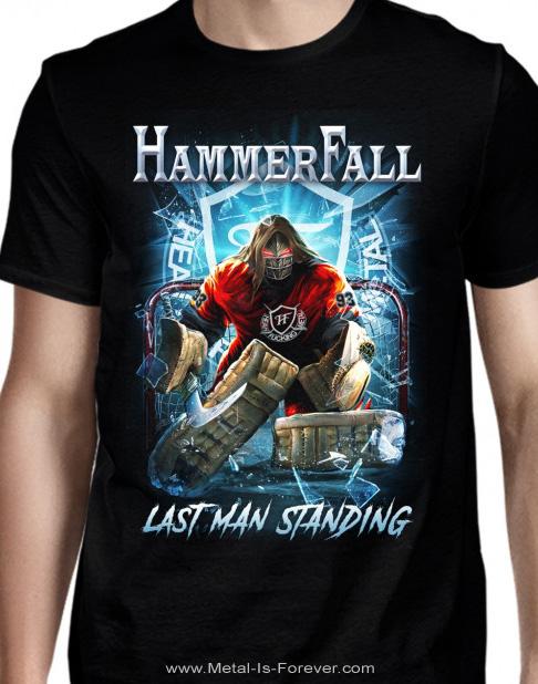HAMMERFALL (ハンマーフォール) LAST MAN STANDING 「ラスト・マン・スタンディング」 Tシャツ