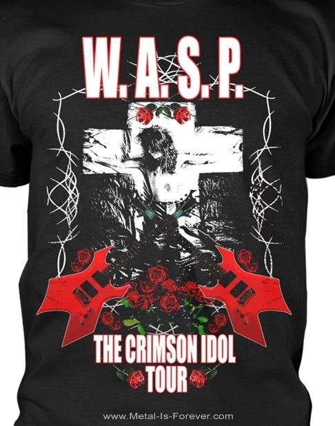 W.A.S.P. (ワスプ) THE CRIMSON IDOL 「クリムゾン・アイドル」 ツアー Tシャツ