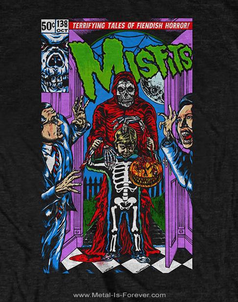 MISFITS (ミスフィッツ) TRICK OR TREAT 「トリック・オア・トリート」 Tシャツ