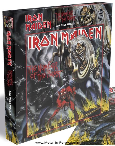 IRON MAIDEN -アイアン・メイデン- THE NUMBER OF THE BEAST 「魔力の刻印」 500ピース ジグソーパズル