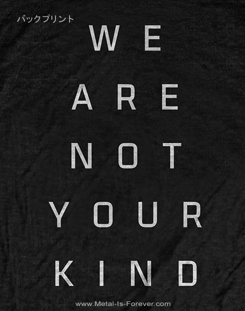 SLIPKNOT -スリップノット- WE ARE NOT YOUR KIND 「ウィー・アー・ノット・ユア・カインド」 Tシャツ