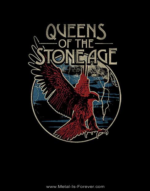 QUEENS OF THE STONE AGE (クイーンズ・オブ・ザ・ストーン・エイジ) EAGLE 「イーグル」 Tシャツ