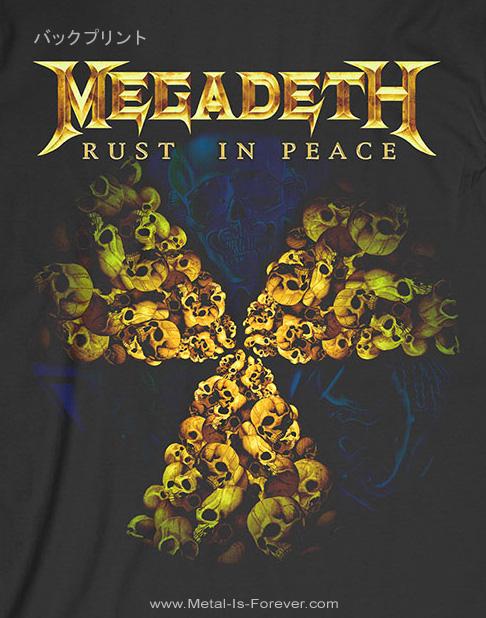 MEGADETH (メガデス) RUST IN PEACE 30TH ANNIVERSARY 「ラスト・イン・ピース・30周年記念」 Tシャツ