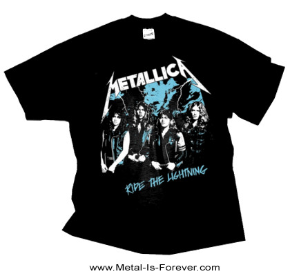 METALLICA (メタリカ) RIDE THE LIGHTNING 「ライド・ザ・ライトニング」 ヴィンテージ・フォト Tシャツ