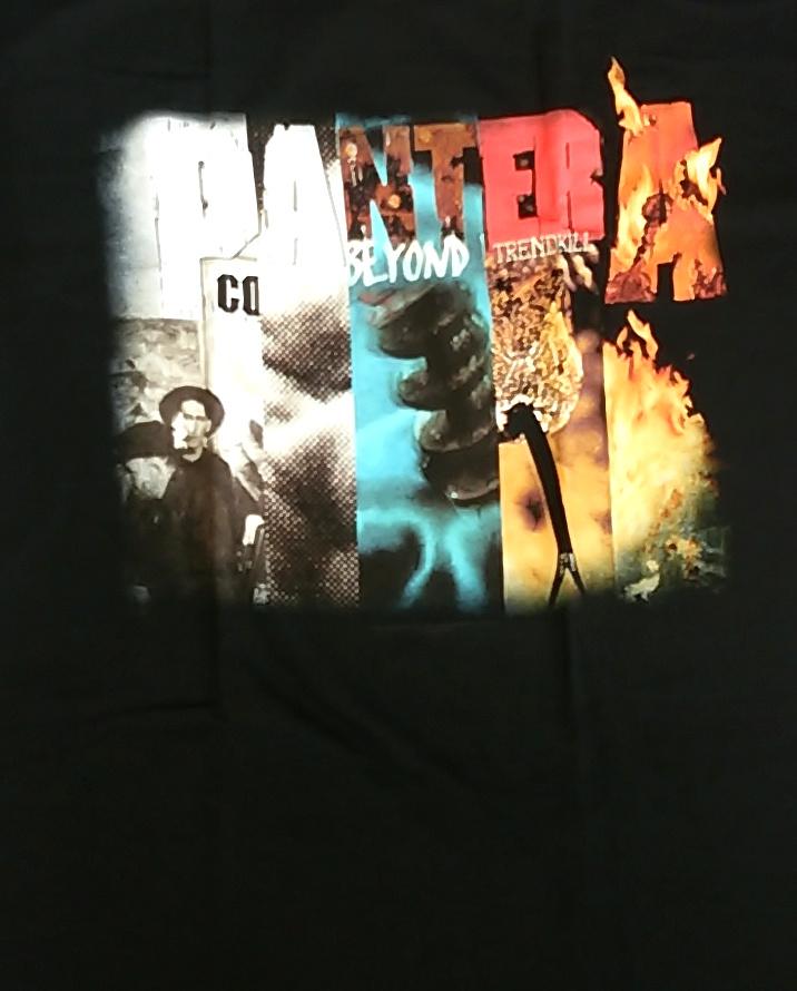【在庫有り商品】PANTERA -パンテラ- COLLAGE 「コラージュ」 Tシャツ Lサイズ