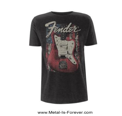 FENDER -フェンダー- DISTRESSED GUITAR (JAZZMASTER)  「ディストレスト・ギター(ジャズマスター)」 Tシャツ