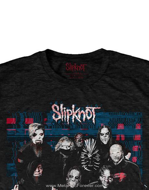 SLIPKNOT -スリップノット- WE ARE NOT YOUR KIND 「ウィー・アー・ノット・ユア・カインド」 グリッチ Tシャツ