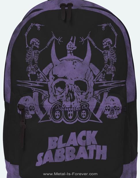 BLACK SABBATH (ブラック・サバス) SKELETON 「スケルトン」 リュックサック