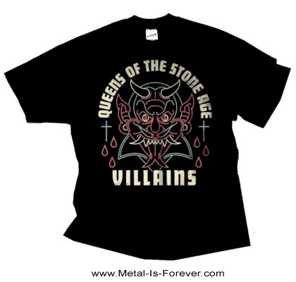 QUEENS OF THE STONE AGE (クイーンズ・オブ・ザ・ストーン・エイジ) VILLAINS 「ヴィランズ」 Tシャツ