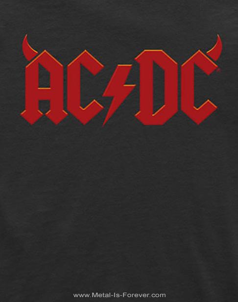 AC/DC (エーシー・ディーシー) HORNS LOGO 「ホーンズ・ロゴ」 キッズ Tシャツ
