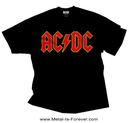 AC/DC -エーシー・ディーシー- LOGO 「ロゴ」 Tシャツ