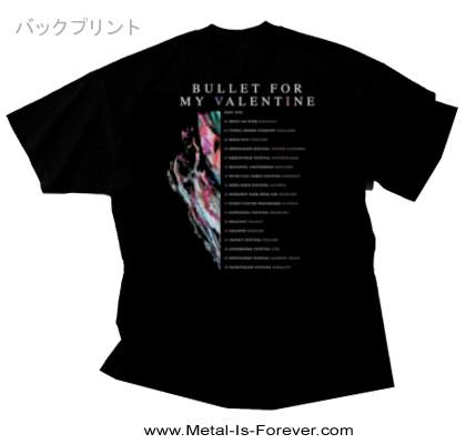 BULLET FOR MY VALENTINE -ブレット・フォー・マイ・ヴァレンタイン- GRAVITY 「グラヴィティ」 2018年ヨーロッパ・ツアー Tシャツ