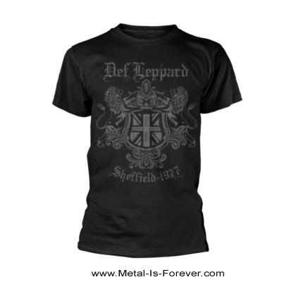 DEF LEPPARD -デフ・レパード- SHEFFIELD 1977 「シェフィールド・1977」 Tシャツ
