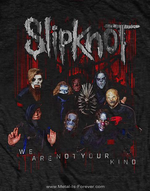 SLIPKNOT -スリップノット- WE ARE NOT YOUR KIND 「ウィー・アー・ノット・ユア・カインド」 フォト Tシャツ