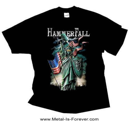 HAMMERFALL (ハンマーフォール) LIBERTY AND METAL FOR ALL 「リバティー・アンド・メタル・フォー・オール」 Tシャツ