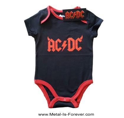 AC/DC (エーシー・ディーシー) HORNS LOGO 「ホーンズ・ロゴ」 ベビー服