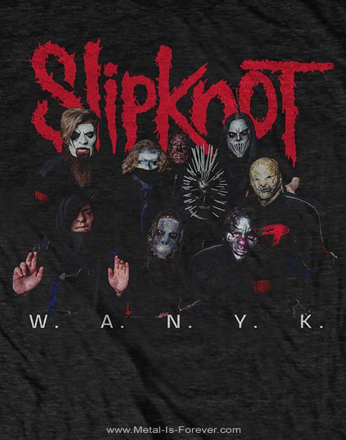 SLIPKNOT -スリップノット- WE ARE NOT YOUR KIND 「ウィー・アー・ノット・ユア・カインド」 ロゴ Tシャツ
