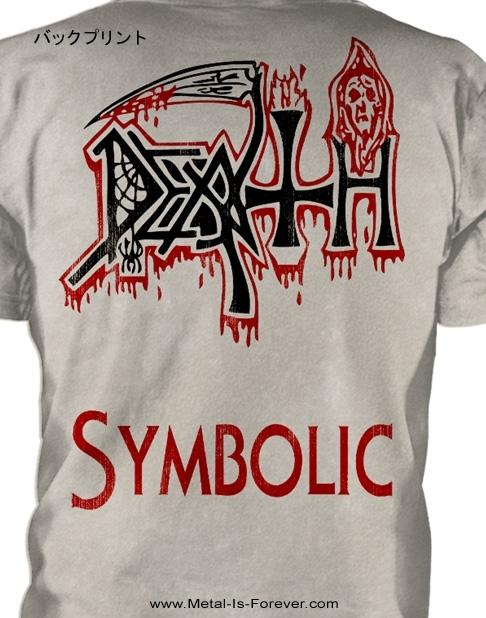 DEATH (デス) SYMBOLIC 「シンボリック」 Tシャツ(オフホワイト)