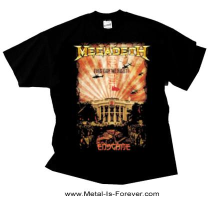 MEGADETH (メガデス) CHINA WHITEHOUSE 「チャイナ・ホワイトハウス」 Tシャツ