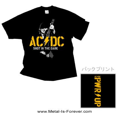 AC/DC (エーシー・ディーシー) SHOT IN THE DARK 「ショット・イン・ザ・ダーク」 PWR Tシャツ