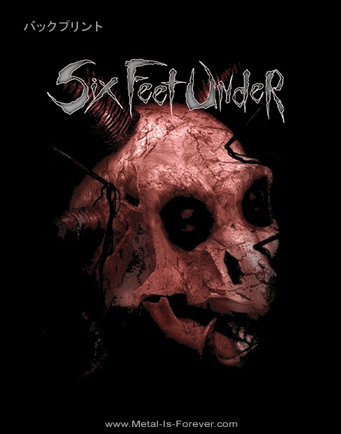 SIX FEET UNDER (シックス・フィート・アンダー) EURO TOUR 「ユーロ・ツアー」 Tシャツ