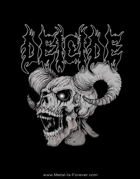 DEICIDE (ディーサイド) SKULL HORNS 「スカル・ホーン」 Tシャツ