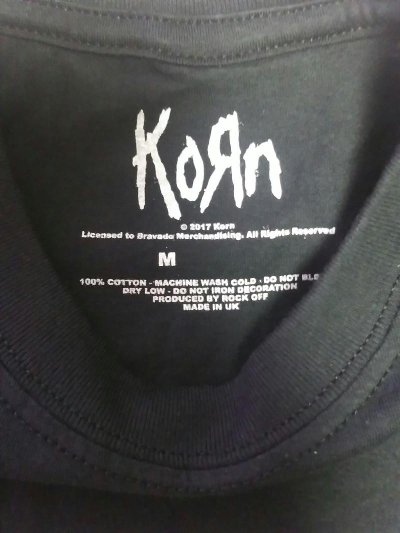 【在庫切れ商品】KORN -コーン- DEATH DREAM 「デス・ドリーム」 Tシャツ Mサイズ