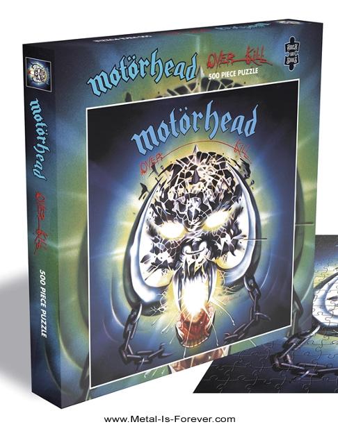 MOTORHEAD -モーターヘッド- OVERKILL 「オーバーキル」 500ピース ジグソーパズル