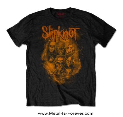 SLIPKNOT -スリップノット- WE ARE NOT YOUR KIND 「ウィー・アー・ノット・ユア・カインド」 オレンジ Tシャツ