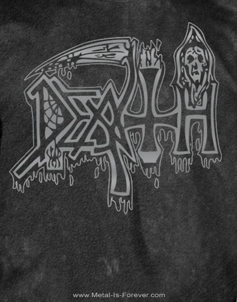 DEATH (デス) SILVER LOGO  「シルバー・ロゴ」 Tシャツ(ヴィンテージ・ウォッシュ)