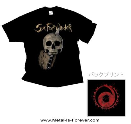 SIX FEET UNDER (シックス・フィート・アンダー) KNIFE SKULL 「ナイフ・スカル」 Tシャツ
