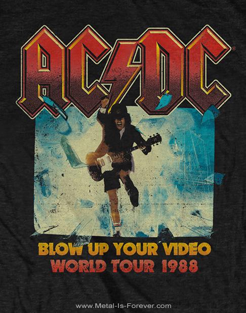 AC/DC -エーシー・ディーシー- BLOW UP YOUR VIDEO 「ブロウ・アップ・ユア・ビデオ」 Tシャツ