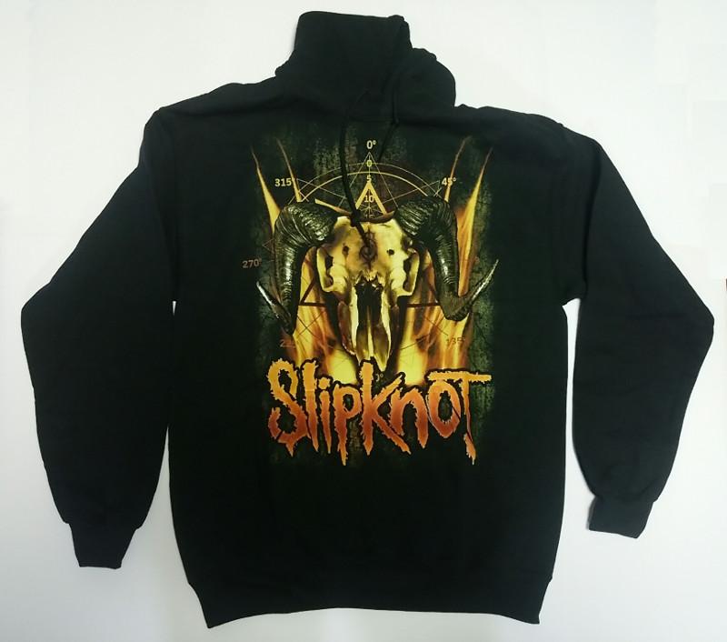 【在庫有り商品】SLIPKNOT -スリップノット- CATTLE SKULL 「キャトル・スカル」 パーカー Mサイズ