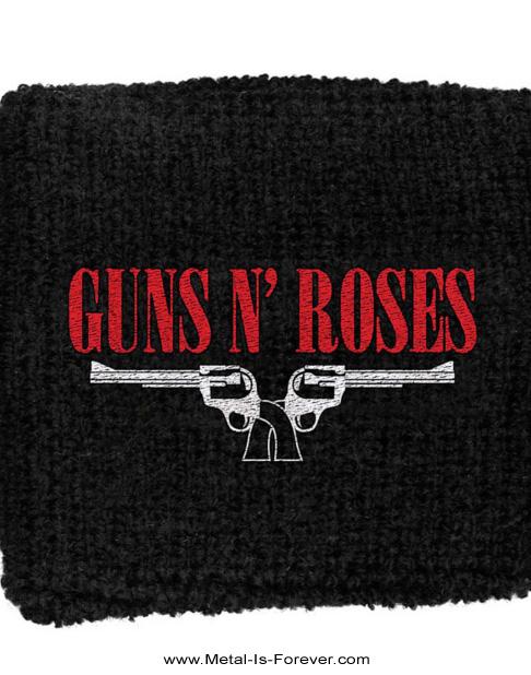 GUNS N' ROSES -ガンズ・アンド・ローゼズ-  PISTOLS ピストル」 リストバンド
