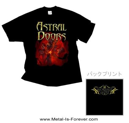 ASTRAL DOORS -アストラル・ドアーズ- WORSHIP OR DIE 「ワーシップ・オア・ダイ」 Tシャツ