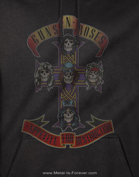 GUNS N' ROSES -ガンズ・アンド・ローゼズ- APPETITE FOR DESTRUCTION 「アペタイト・フォー・ディストラクション」 パーカー