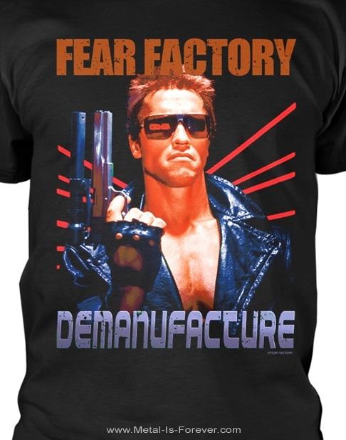FEAR FACTORY (フィア・ファクトリー) TERMINATOR 「ターミネーター」 Tシャツ