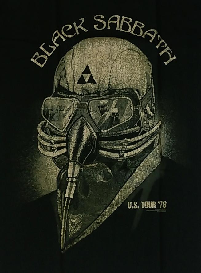 【在庫有り商品】BLACK SABBATH -ブラック・サバス- 1978年 US ツアー Tシャツ Sサイズ