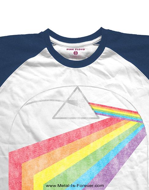PINK FLOYD -ピンク・フロイド- PRISM ARCH 「プリズム・アーチ」 ラグラン半袖Tシャツ