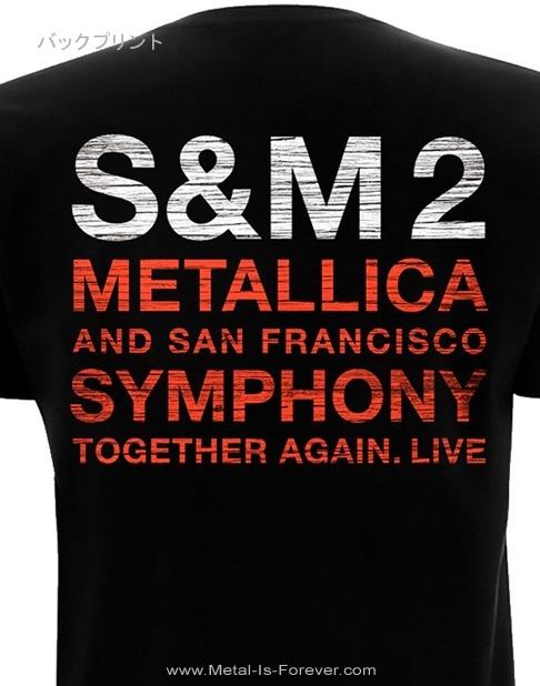 METALLICA (メタリカ)  S&M2 SCRATCH CELLO 「メタリカ&サンフランシスコ交響楽団:S&M2 スクラッチ・チェロ」 Tシャツ