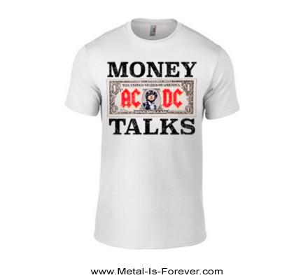 AC/DC (エーシー・ディーシー) MONEY TALKS 「マネートークス」 Tシャツ(白)