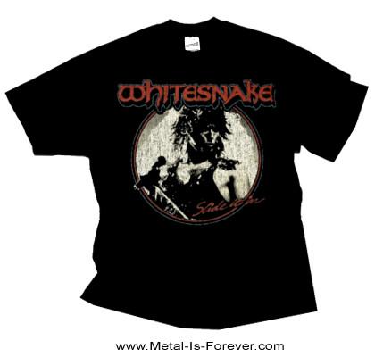 WHITESNAKE (ホワイトスネイク) SLIDE IT IN 「スライド・イット・イン」 Tシャツ