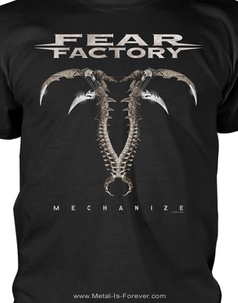 FEAR FACTORY (フィア・ファクトリー) MECHANIZE 「メカナイズ」 Tシャツ