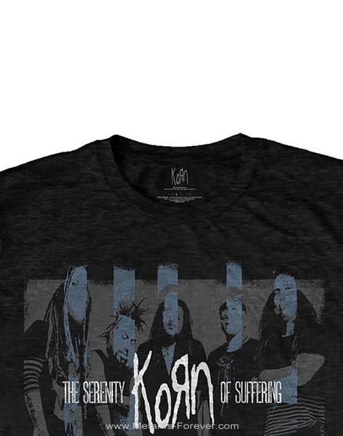 KORN (コーン) BLOCK PHOTO 「ブロック・フォト」 Tシャツ
