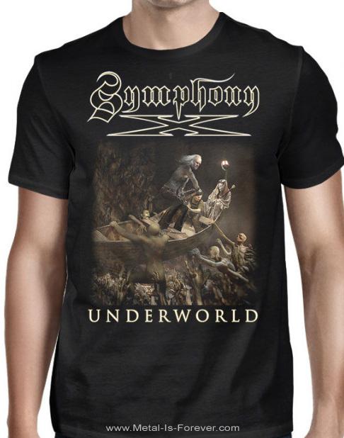 SYMPHONY X -シンフォニー・エックス- UNDERWORLD 「アンダーワールド」 シップ Tシャツ
