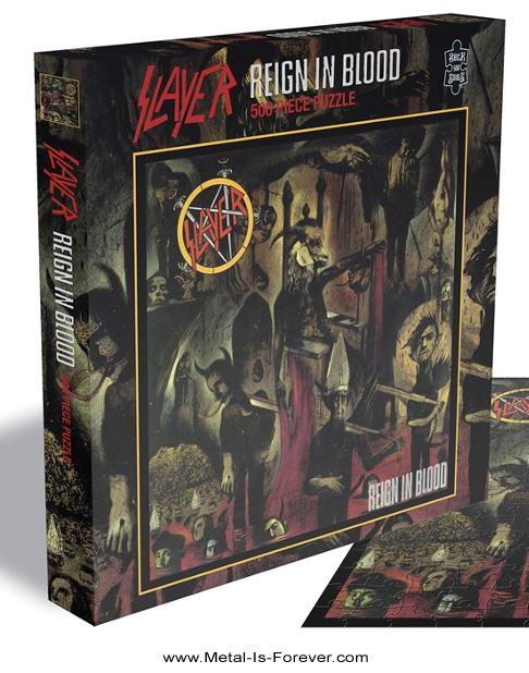 SLAYER -スレイヤー- REIGN IN BLOOD 「レイン・イン・ブラッド」 500ピース ジグソーパズル