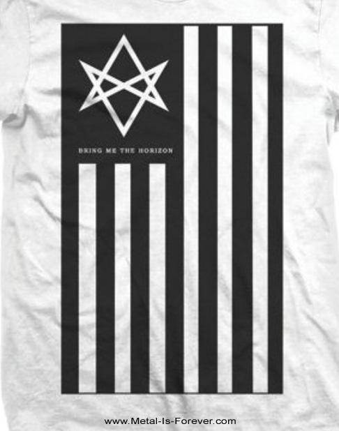 BRING ME THE HORIZON (ブリング・ミー・ザ・ホライズン) ANTIVIST 「アンチヴィスト」 Tシャツ(白)