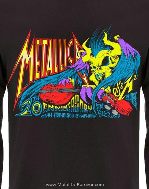 METALLICA (メタリカ)  S&M2 ANNIVERSARY 「メタリカ&サンフランシスコ交響楽団:S&M2 アニヴァーサリー」 長袖Tシャツ
