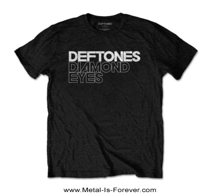 DEFTONES (デフトーンズ) DIAMOND EYES 「ダイヤモンド・アイズ」 ロゴ Tシャツ