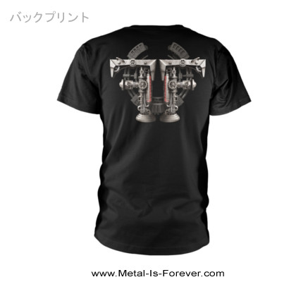 FEAR FACTORY (フィア・ファクトリー) MECHANICAL SKELETON 「メカニカル・スケルトン」 Tシャツ